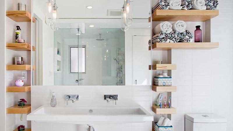 Угаалгын өрөөний зайг ашиглан хийж болох тавиурын 20 санаа