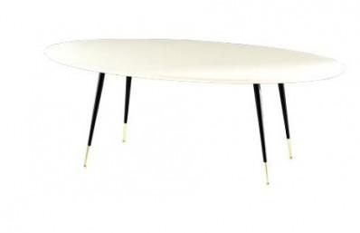 Кофены ширээ Цагаан DELTA ELIPTIC
