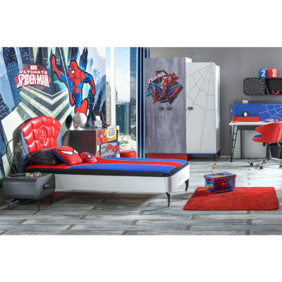 Хүүхдийн Ор 90*200 + 1тумбо SPIDERMAN
